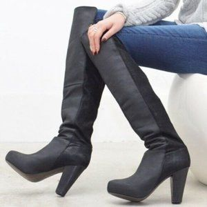 Steve Madden Womens Size 6 Rannsome Leather Boots